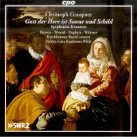 CD-Cover - Christoph Graupner: Epiphaniaskantaten